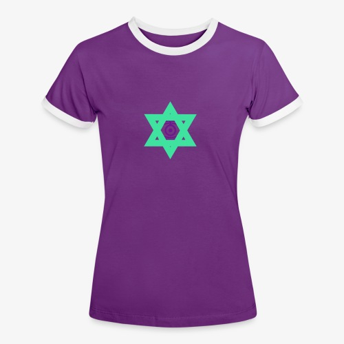 Star eye - Women's Ringer T-Shirt