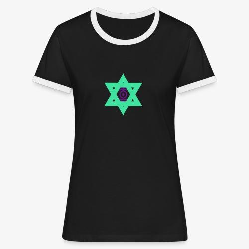 Star eye - Women's Ringer T-Shirt