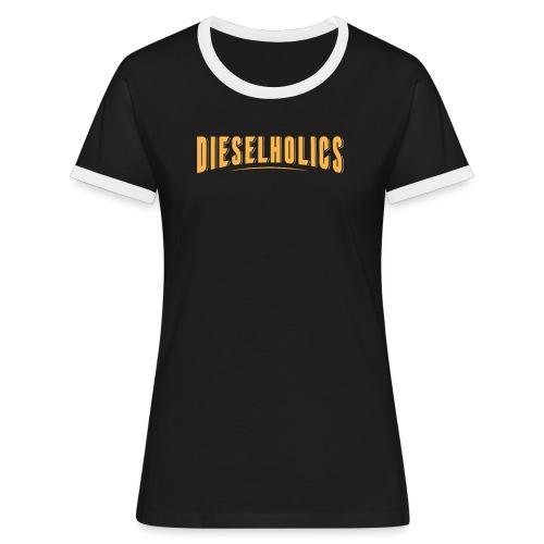 Dieselholics Dieseldienstag Fridays for Hubraum - Frauen Kontrast-T-Shirt