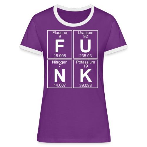 F-U-N-K (funk) - Full - Women's Ringer T-Shirt
