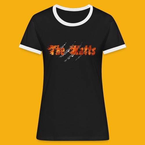 Katts transparent 30x16 - T-shirt contrasté Femme