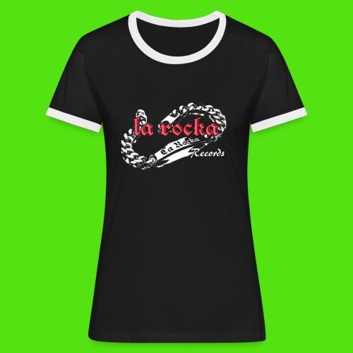 La Rocka black'n'pink tsp - Women's Ringer T-Shirt