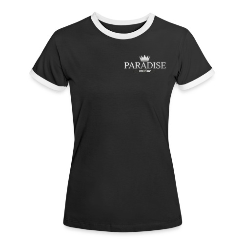 Paradise Online - Vrouwen contrastshirt