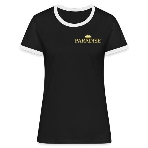Paradise - Vrouwen contrastshirt