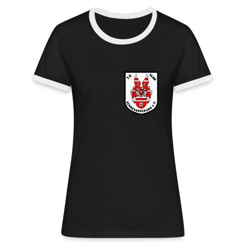 PNG - Frauen Kontrast-T-Shirt