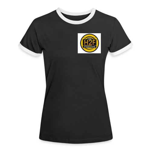 Housed2Funk Logo - Women's Ringer T-Shirt
