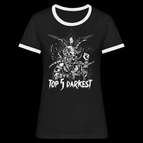 Top 5 Darkest - Women's Ringer T-Shirt