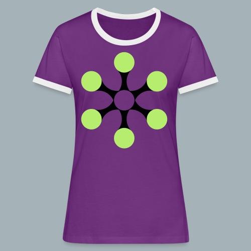 Star Bio T-shirt - Vrouwen contrastshirt