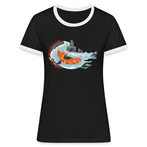 kayakillust2 - Women's Ringer T-Shirt