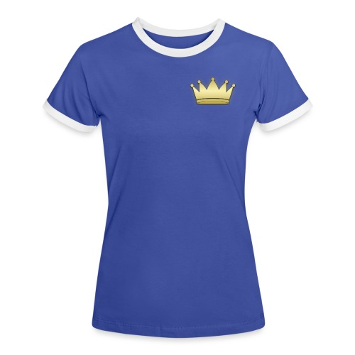 Paradise Crown Gold - Vrouwen contrastshirt