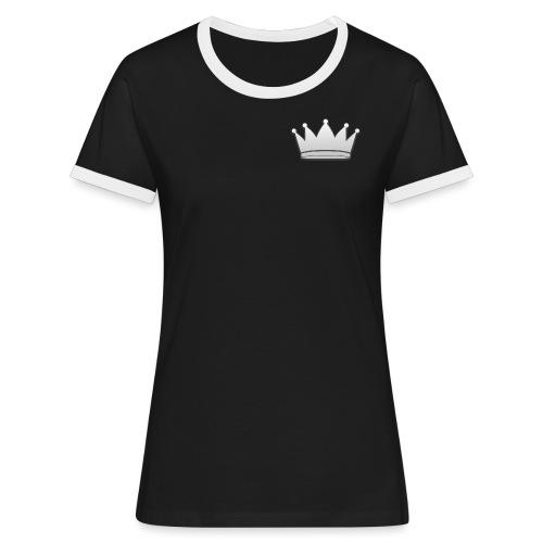 Paradise Online Crown Silver - Vrouwen contrastshirt