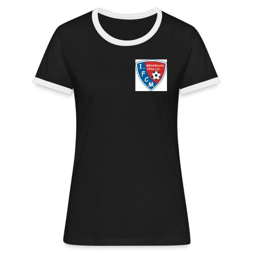 fcm0910 - Frauen Kontrast-T-Shirt