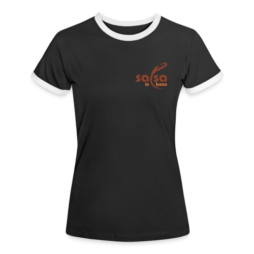 Salsa in Bonn Logo - Frauen Kontrast-T-Shirt