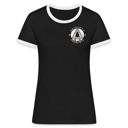 Instruktør mærke traditionel placering - Dame kontrast-T-shirt