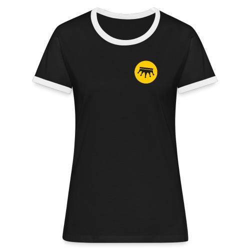 Corona Invertida - Camiseta contraste mujer