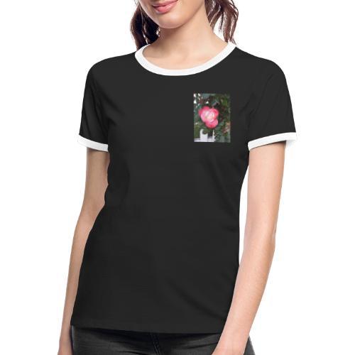 20200531 121835 - Frauen Kontrast-T-Shirt