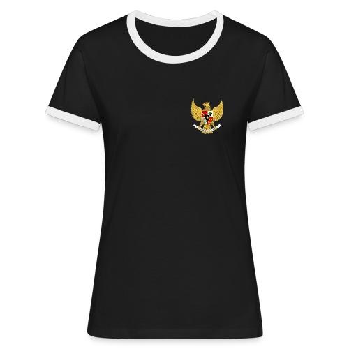 garuda pancasila 1 - Women's Ringer T-Shirt