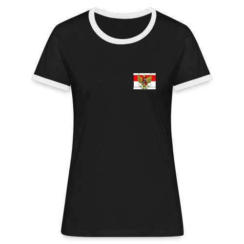 garuda pancasila flag - Women's Ringer T-Shirt
