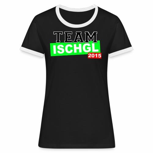 tschirt3 png - Frauen Kontrast-T-Shirt