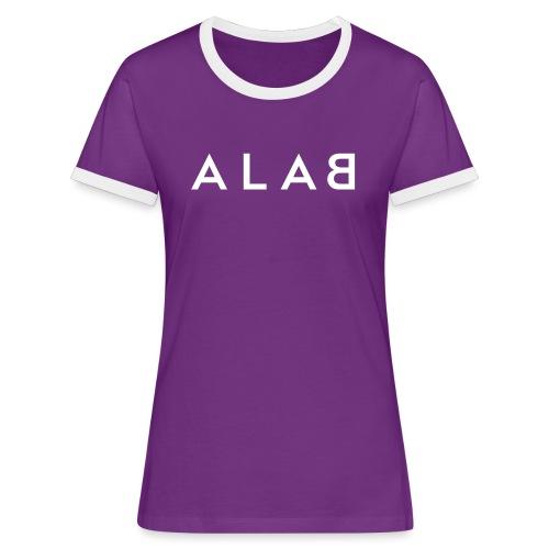 ALAB - Maglietta Contrast da donna