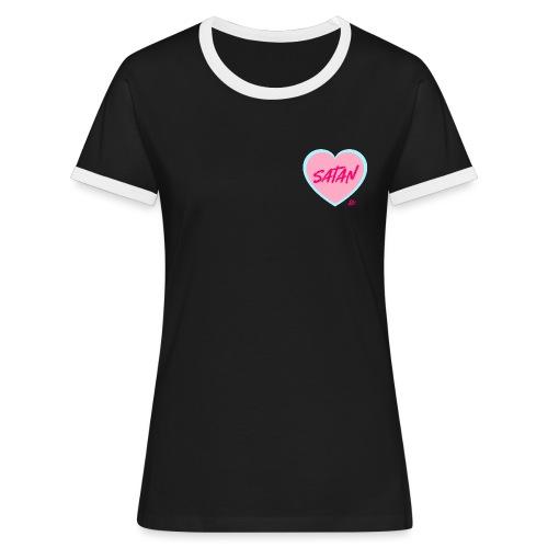 Sweet Heart - Maglietta Contrast da donna