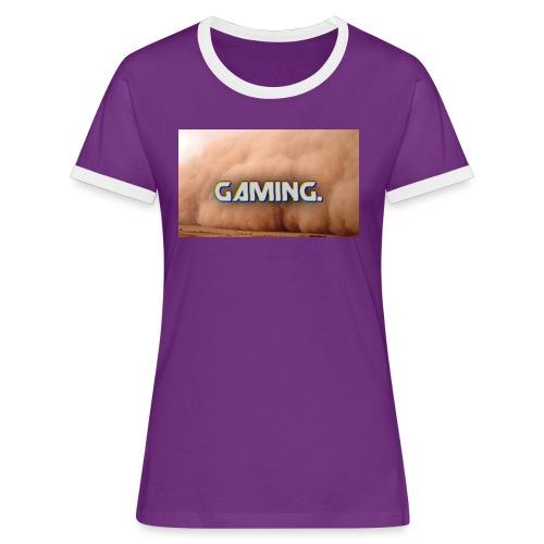 GamingDust LOGO - Women's Ringer T-Shirt