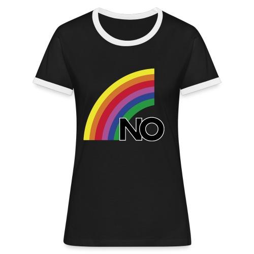 Logo NO 1988 png - T-shirt contrasté Femme