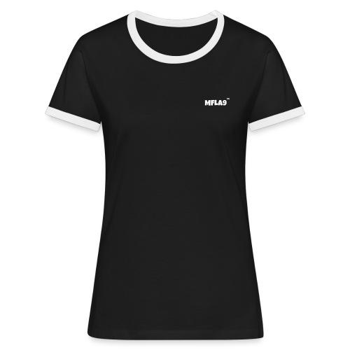 MFLA9 - Camiseta contraste mujer
