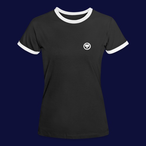 MINILOGO W - Frauen Kontrast-T-Shirt