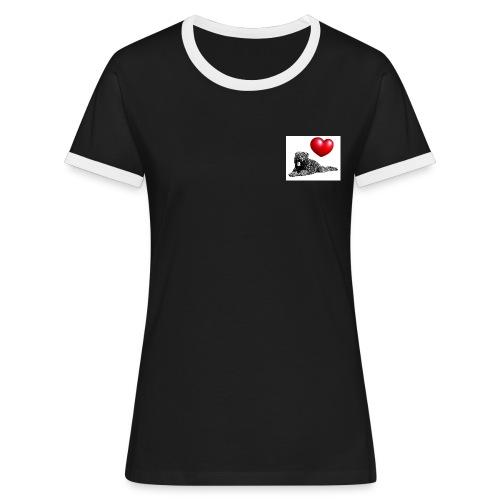 coeur2 - T-shirt contrasté Femme