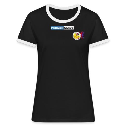 GCG Logo - Frauen Kontrast-T-Shirt