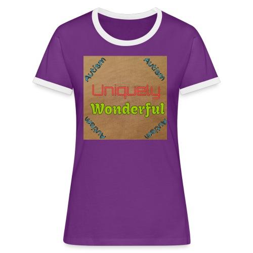 Autism statement - Women's Ringer T-Shirt