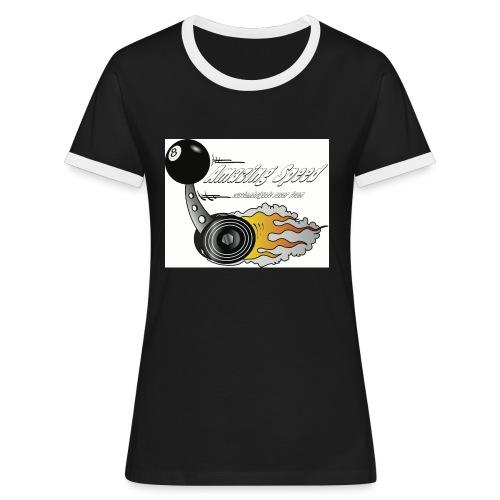 shifter - T-shirt contrasté Femme