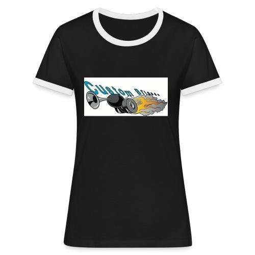 trompettecb - T-shirt contrasté Femme