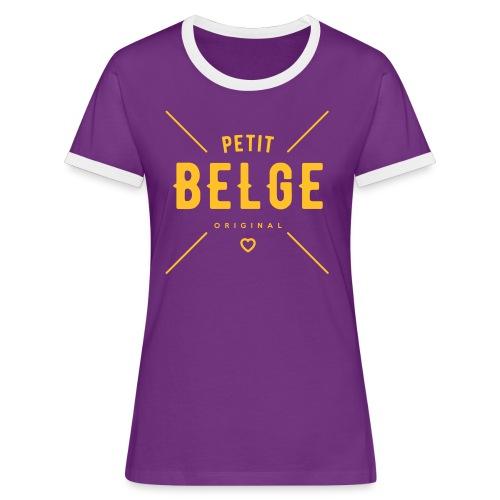 petit belge original - T-shirt contrasté Femme