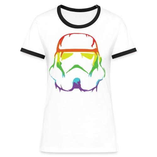 Pride Trooper - simple - Naisten kontrastipaita