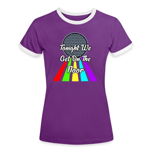 Dance Party - Frauen Kontrast-T-Shirt