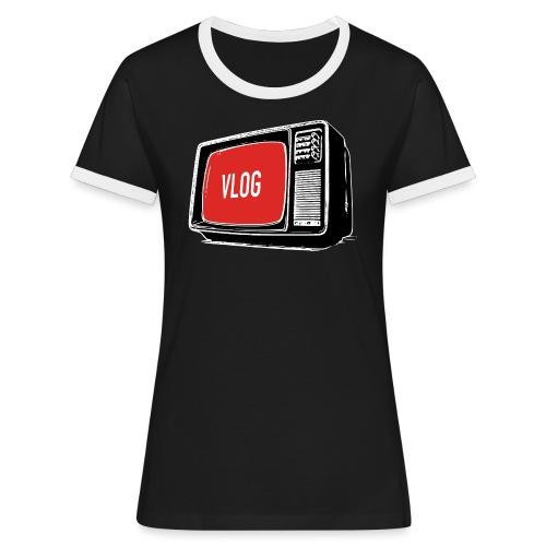 It's Vlogging Prime Time! - Women's Ringer T-Shirt