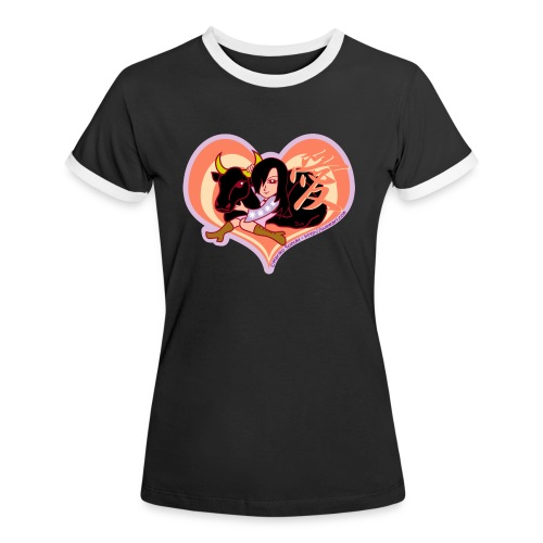 Girl and Ox (Love) - Women's Ringer T-Shirt