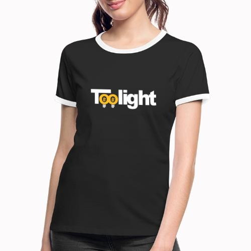toolight on - Maglietta Contrast da donna