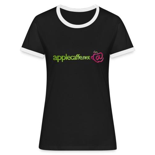 applecaffe header 2015 BUONO png - Maglietta Contrast da donna