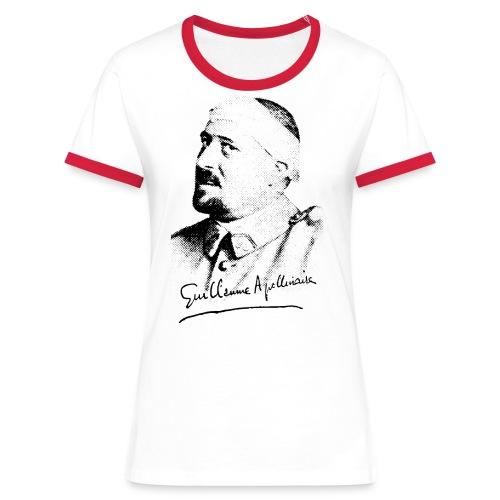 Débardeur Femme - Guillaume Apollinaire - T-shirt contrasté Femme