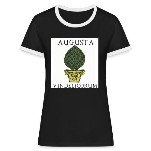 image2801 - Frauen Kontrast-T-Shirt