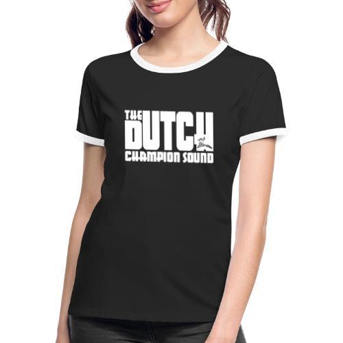The Dutch Champion Sound WHITE - Women's Ringer T-Shirt