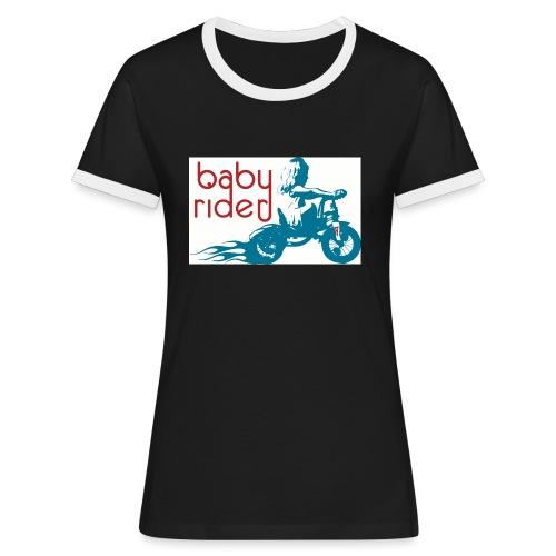 Tricycle - T-shirt contrasté Femme