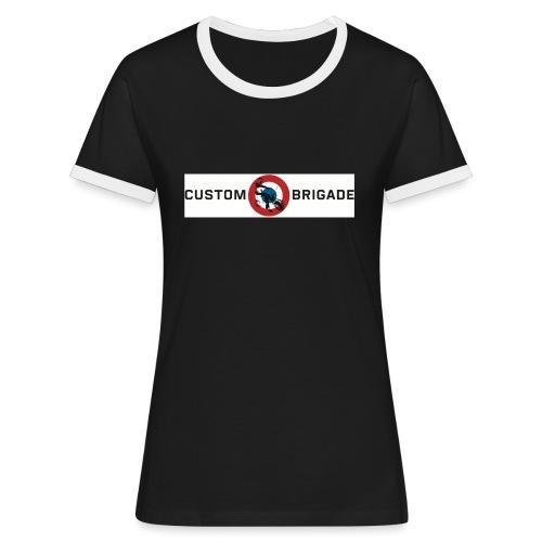 Cocarde - T-shirt contrasté Femme