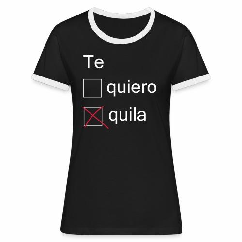 tequila - T-shirt contrasté Femme