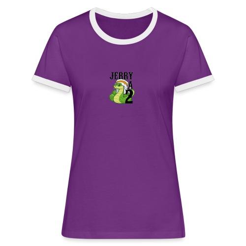 chechepent - T-shirt contrasté Femme