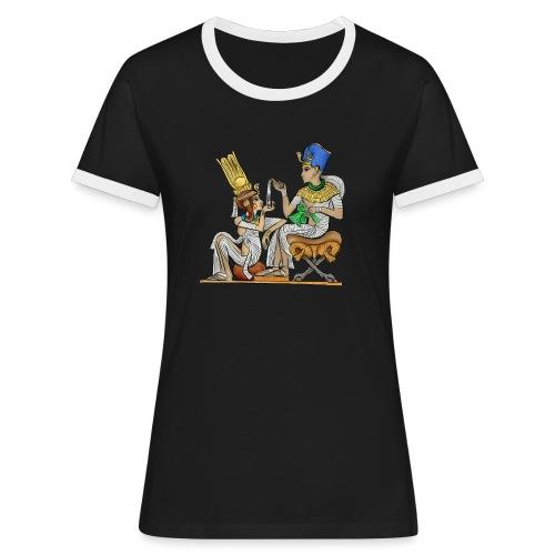 PHARAO Tutanchamun - Frauen Kontrast-T-Shirt