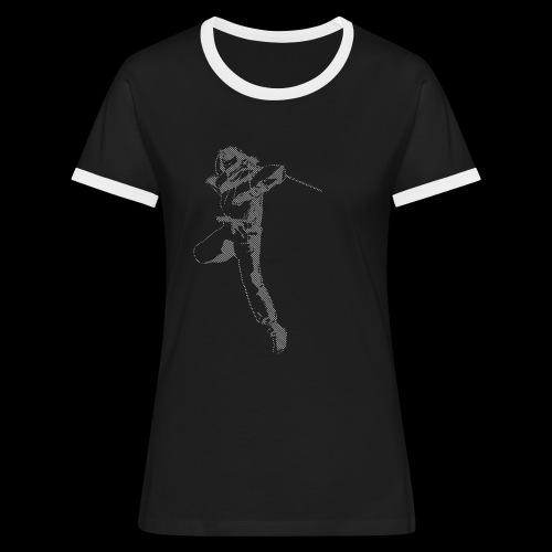 canniste lignes - T-shirt contrasté Femme